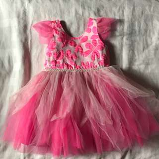 Modern Princess Pink Ball Dress