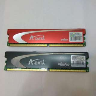DDR 2 2G RAM $60 for 2 pieces