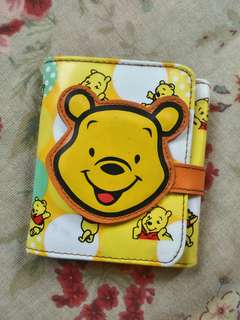 Pooh Trifold wallet with coin purse