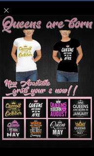 250pesos! Birthmonth TEES