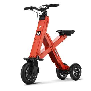 GLITE X1 CROSS COMPACT SEATED ELECTRIC SCOOTER (Orange)
