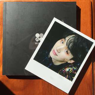BTS Wings [G ver.] Album + SUGA photocard