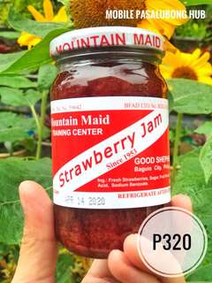 Good Shepherd Strawberry and Blueberry Jam
