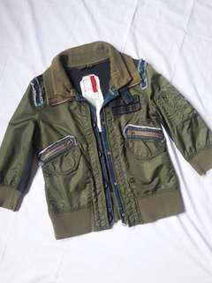 Military Bomber Jacket Style