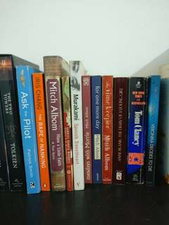Assorted books & novels