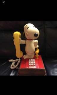 Snoopy按制電話