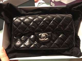 Chanel 漆皮mini 99% new