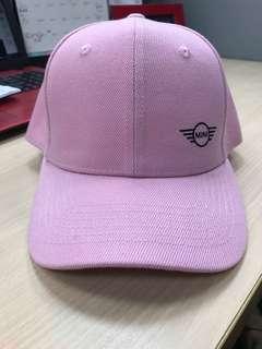 🚚 粉紅Mini棒球帽