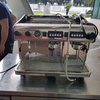Expobar Megacream + Coffee Grinder