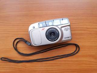 Kamera Analog Minolta Riva Zoom 70 Date