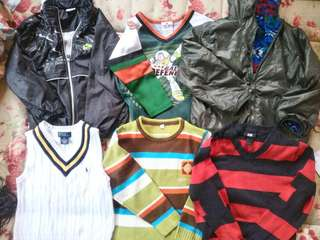 Branded boys jackets (3-6yo)