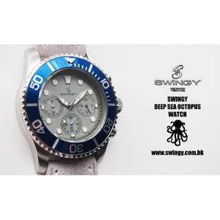 SWING DSO Watch Grey Leather