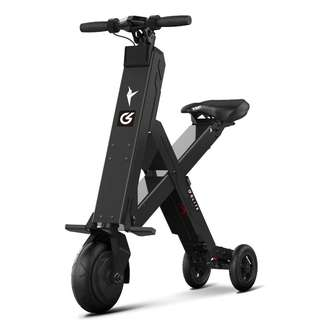 GLITE X1 COMPACT SEATED ELECTRIC SCOOTER (Black)