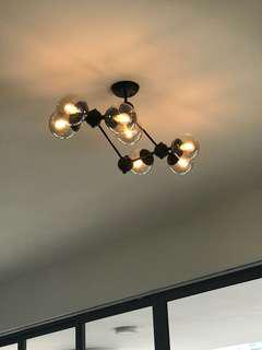 Trendy ceiling lights for living hall