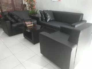 Sofa / kursi tamu jok 321+ meja