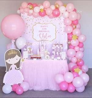 Princess Dessert Table for birthday/ baby shower