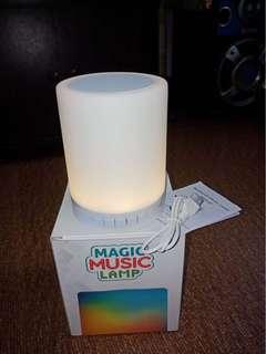 Magic Music Lamp Speaker