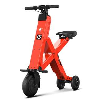 GLITE X1 COMPACT SEATED ELECTRIC SCOOTER (Orange)