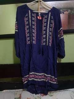 Plus size bohemian dress