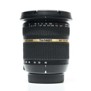 Tamron SP AF 10-24mm f3.5-4.5 DI II Zoom Lens (Canon)