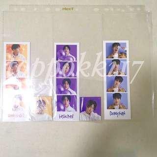 JBJ true colors II-II sachet 4 cut sticker sheet Sanggyun full set hyunbin donghan
