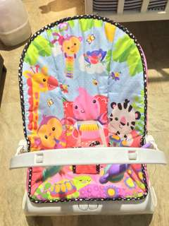 Fisher Price Colorful Multifunction Baby Bouncer Chair