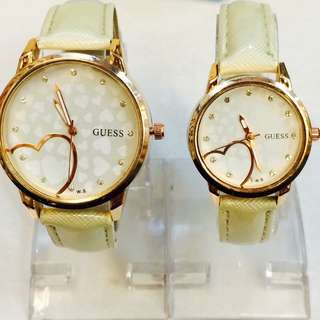 Guess watch 1 pair
