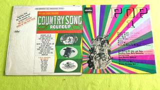 POP 1 ● COUNTRY SONG ROUNDUP . The Quests ● October Cherries ● The Beatles ● Beach Boys ● Edison Lighthouse ● The Archies ● Shocking Blue ● Shekane ● Cliff Richard ● Spiral Starecase ● Christie. ( Buy 1 get 1 free )  vinyl record