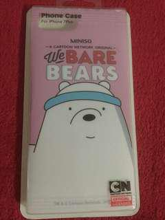 Miniso We Bare Bears iPhone Casing 7plus / 8plus