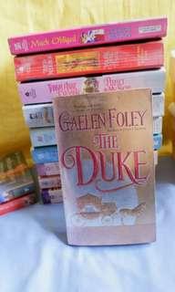 Romances Novels Pile 1 Set 2