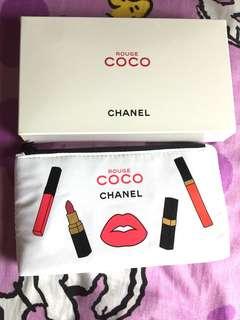 Chanel coco 化妝袋包郵