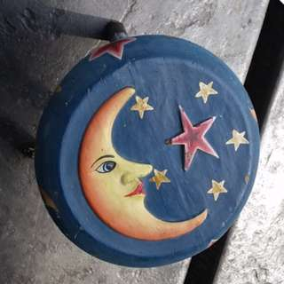 Stool with Half Moon