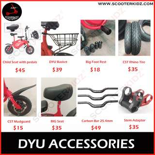 DYU Accesorries Special Promotion till end July 2018