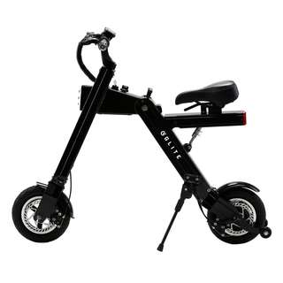 GLITE MITE COMPACT SEATED ELECTRIC SCOOTER (Black)