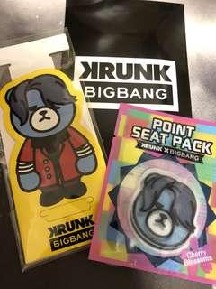 KRUNK X BIGBANG D-LITE 點片包帶支架 (黃色)