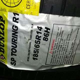 Dunlop Touring Tires 185/65/14