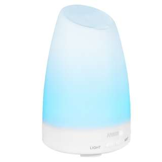 652. AMIR 150ml Ultrasonic Aroma Diffuser with 7 Colorful LED Lights, Aromatherapy Essential Oil Diffuser, Cool Mist Humidifiers and Waterless Automatically Shut-off, for Home, Yoga, Office, Spa, Bedroom, Baby Room