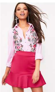 BNWT pink skirt size 10