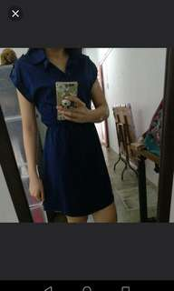 OL Formal Dress in Navy Blue (M)