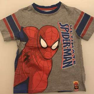95% New Spider Man t shirt (size M) both side painted (bought $199)