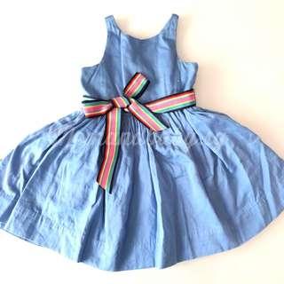 SALE! Authentic RL rare bow dress