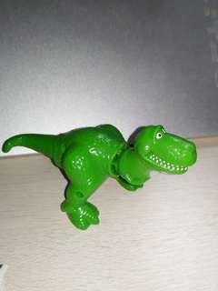 懷舊 迪士尼恐龍 識搖頭擺尾 M記玩具公仔
