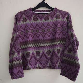Sweater Knit Tribal