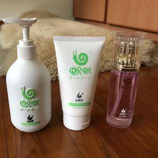 Wowo shampoo, mask and hair oil