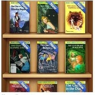 NANCY DREW MYSTERY FILES EBOOKS
