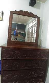 Antique Furniture (Dresser Mirror)
