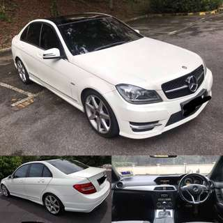 SAMBUNG BAYAR / CONTINUE LOAN  MERCEDES-BENZ C180 BLUEEFICIENCY AMG SPORT (A)