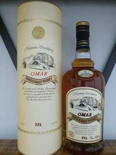 Omar 南投酒廠雪莉桶 whisky  威士忌