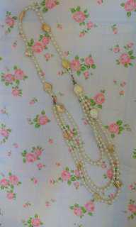 優雅珍珠貝殼項鏈