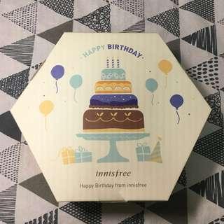 🚚 Innisfree 2018 會員 生日禮